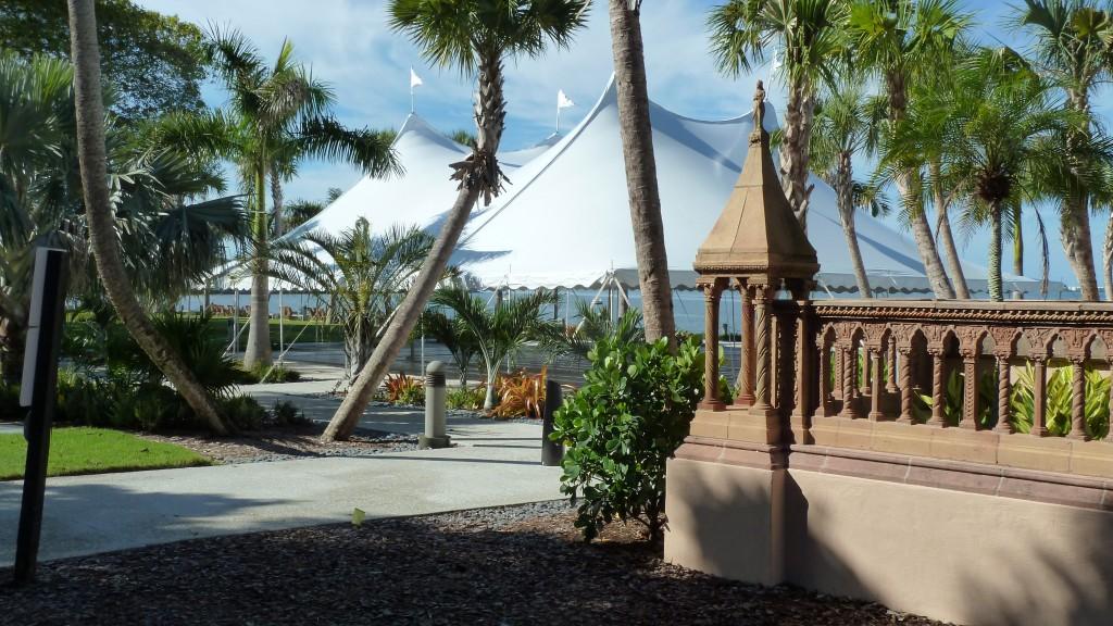 Beautiful tents rented in Sarasota