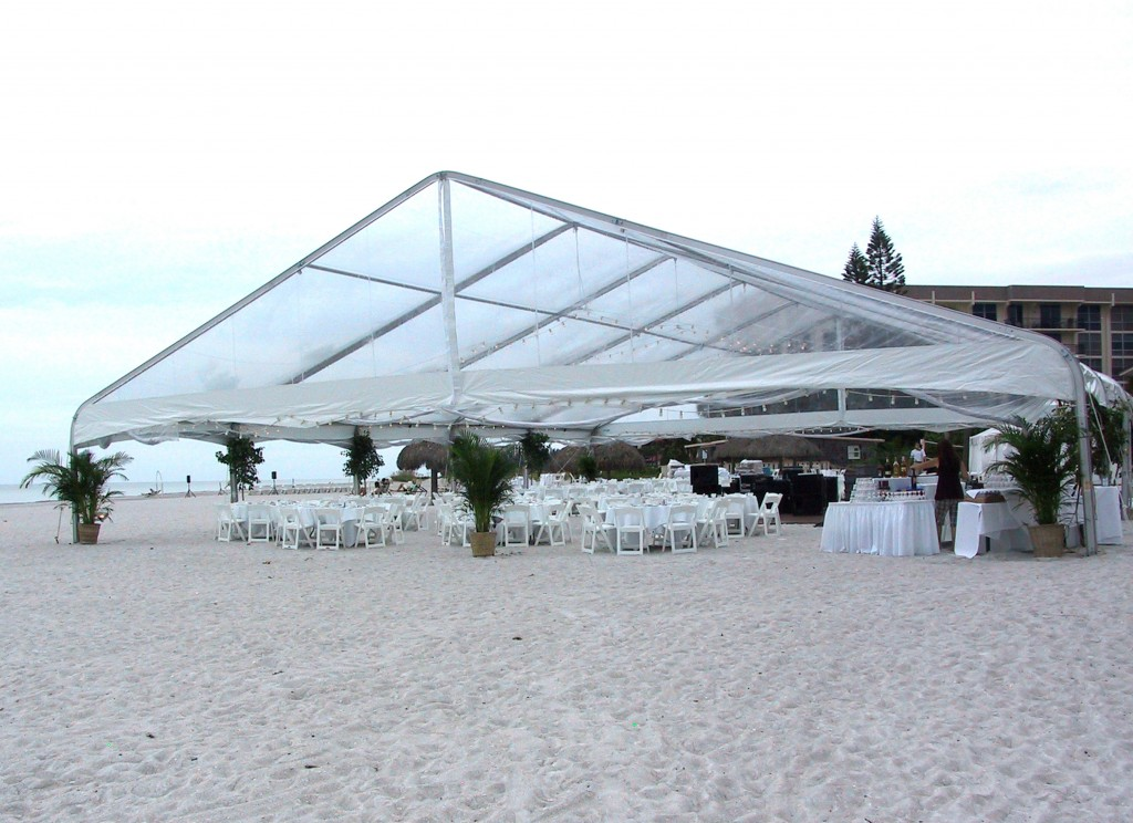 Transparent Clear Span Tents