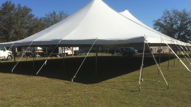 lwtrental.com wedding pole tent
