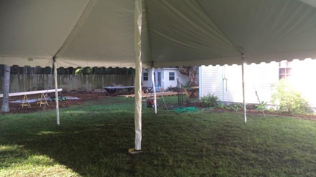 sarasota wedding tent rental from lakewood tent rental