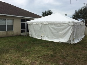 Vendor tents at a street festival. & Party and event tent rental images - Lakewood Tent Rental