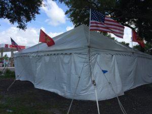 fireworks tent
