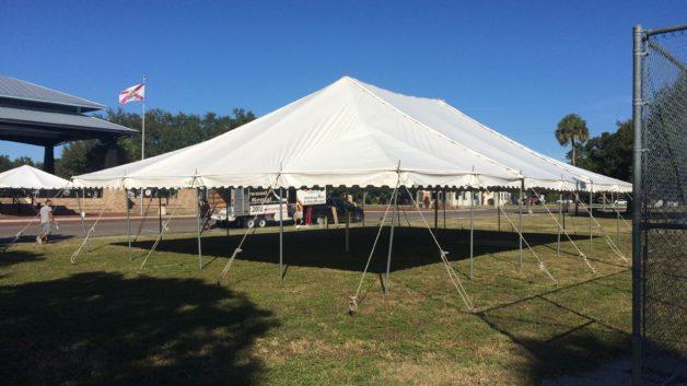 Veterans day tent for Palmetto