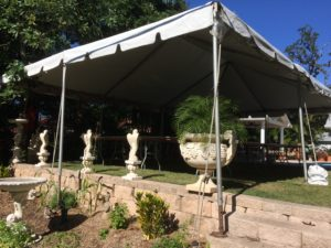 private party frame tent