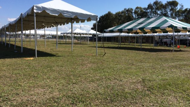 small frame event tents