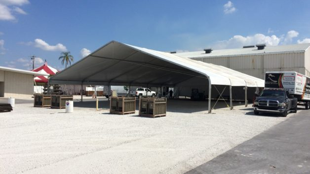 clear span event tent