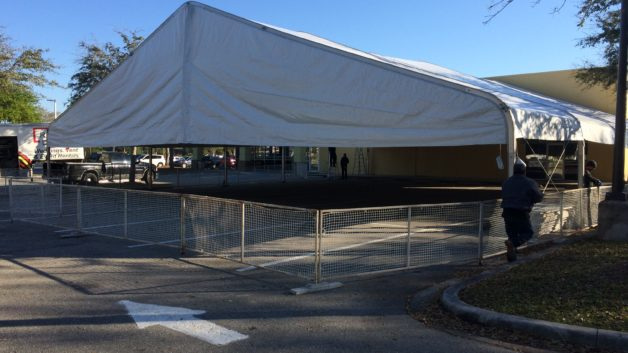 clearspan tent