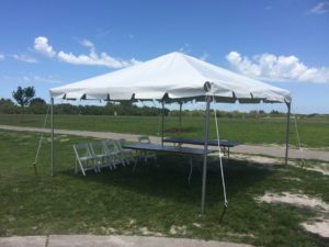 15 x 15 event tent