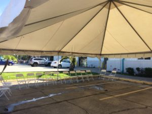 commercial tent event